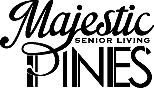 majestic pines logo black