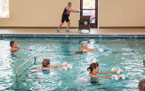 Warm Water therapy at Majestic Pines